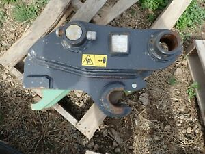 Geith Hydraulic Pin Grabber Unused Came Off A New Bobcat E85 Excavator