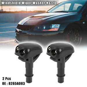 2pcs 8265a083 Windshield Wiper Washer Nozzle For Mitsubishi Lancer 1995 2005