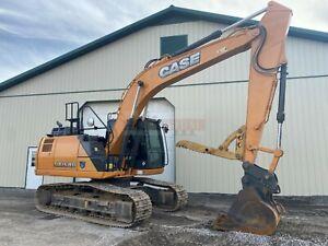 2017 Case Cx160d Hydraulic Excavator 3480 Hour 2 Speed Aux Hyd Thumb