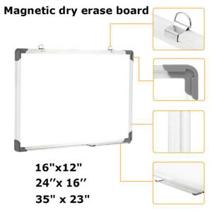 Large Multi choices Magnetic Writing Whiteboard Dry Erase Board Eraser Office Us