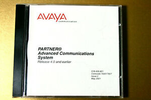 Avaya Partner Advanced System Acs Release 4 0 And Earlier Cd Doc