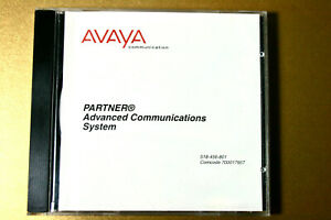 Avaya Partner Advanced System Acs Release 3 0 And Earlier Cd Doc