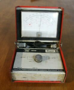 Snap On Mt416 Primary Tach Dwell Meter Model C Untested