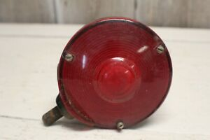 Vintage Double Sided Signal Stat Red Amber Cyclostat Ii Sae Sti64 Light