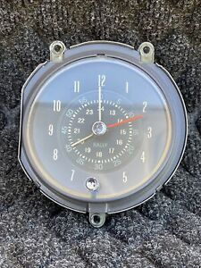 oem Pontiac 1968 Gto Rally Clock One Year Only Like New Factory
