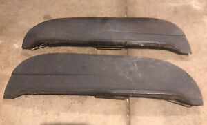 Pair Fender Skirt Ford Mercury Lincoln Hot Rod Street Rat Lead Sled