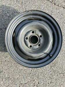 1 1968 1969 1970 Ford Mustang V8 14 Steel Wheel Rim 5 Lug Stamped Ford