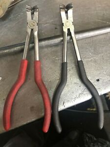 2 Tight Bend Brake Line Bending Pliers 3 16 And 1 4 Tubing