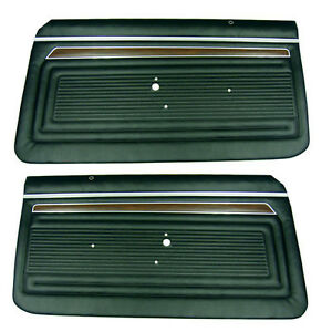 70 71 72 Nova Ss Preassembled Front Door Panels