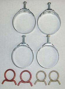 New 1968 Chevy Chevelle Radiator And Heater Hose Clamp Set small Block
