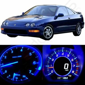 36x Blue Instrument Panel Dash Gauge Bulbs Led Set For 1994 01 Acura Integra