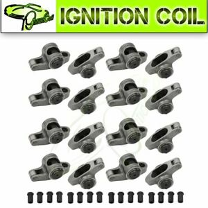 Stainless Steel Roller Rocker Arms For Chevy 400 350 327 305 1 6 Ratio 3 8