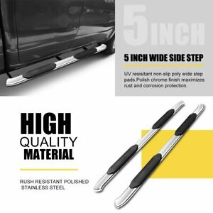 Super Drive 5 Running Boards For 2015 2021 Chevy Colorado Extended Cab