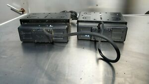 Lot Of 2 Vertex Standard two Way Radio Model Vx 4000l And Vx 4000v 8