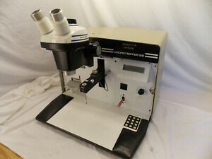 Dage Microtester 22 Pull Tester With Baush Lomb 4 Repair Pc256 Upgrade