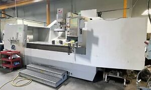 Haas Vr11 5 axis Vmc 1999 2010 Haas Control Up Dated Linear Scales