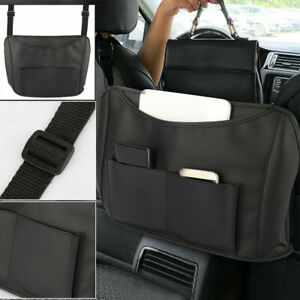 Car Vehicle Net Pocket Handbag Holder Mesh Organizer Car Seat Side Storage Bag