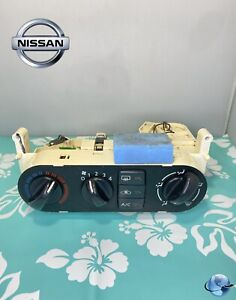 00 06 Nissan Sentra Climate Control Unit With Heater A c Temperature Hvac Oem