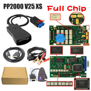 Full Chips Edge For Lexia3 Pp2000 V25 Xs Evolution Diagbox V7 83 Multi language