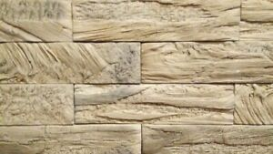 Wall Stones Mold Form Polyurethane Concrete Stamp Molds Wall Tile New Model 2021