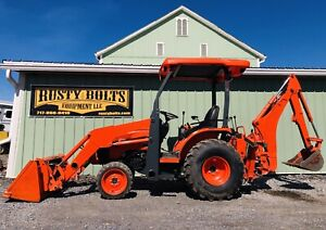 2016 Kubota B26 4x4 Tractor Loader Backhoe Tlb Clean Low Hours Cheap Shipping