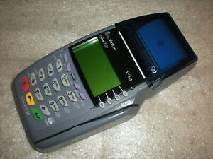 Verifone Omni 3730 Le Vx510 Credit Card Terminal Only No Adapter Asis Untested