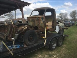 1948 1952 Ford F1 Parts Lot