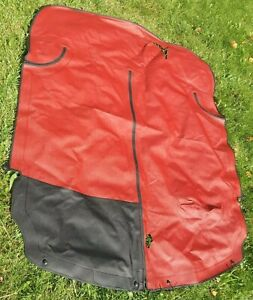 1993 Mazda Miata Le Oem Tonneau Cover Red New Never Used But With Flaws
