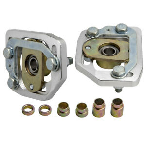 Left Right Front Adjustable Camber Caster Plates For Ford Mustang 1990 1993