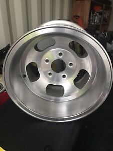 2 Vintage Ansen Sprint Early 70s Slot Wheels 15x10