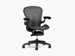 Authentic Herman Miller Aeron Chair A Small Design Within Reach