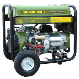 7 000 6 000 watt Gasoline Powered Electric Start Portable Generator