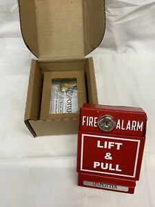 Potter 3992720 Pad 100 psda Addressable Pull Station Dual Action Fire Alarm
