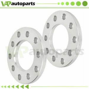 1 2 Thick 2pcs Wheel Spacers 5x4 5 Or 5x4 75 For Ford Mustang Jeep Cherokee