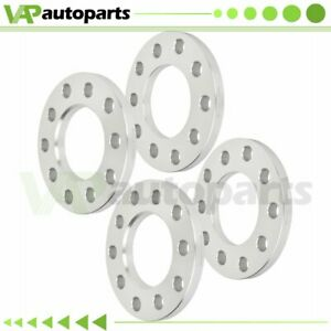 1 2 Thick 4pcs Wheel Spacers 5x4 5 Or 5x4 75 For Ford Mustang Jeep Wrangler