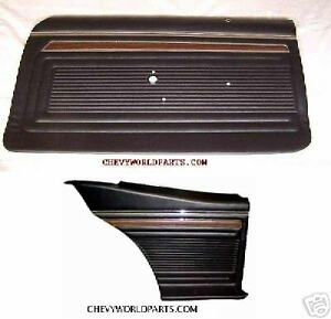 1970 1971 1972 Nova Ss Preassembled Door Panel Kit