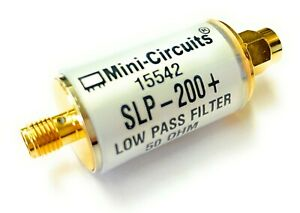 New Mini circuits Slp 200 Coaxial Low Pass Filter 50 Ohm Dc 190mhz Sma Rf