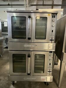 South bend Bgs 22s B Series Double Stack Convection Oven Nat Gas