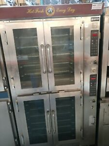 Doyon Ja12 Jet Air Steam Injection Double Commercial Convection Oven