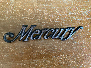 Vintage Early 80s Mercury Car Emblem Never Installed