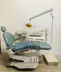 Adec Dental Chair Radius Delivery Unit With Cuspidor Light