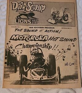 Rare Lions Drag Strip Drag Scoop Magazine Volume 2 33 Drag Racing K youngblood