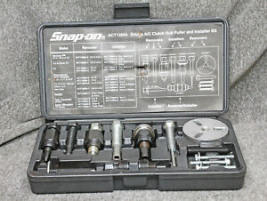 Snap On Act1300a Delux A C Clutch Hub Puller Installer Kit