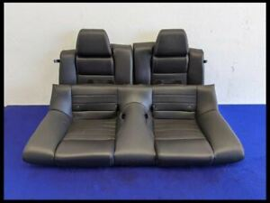 Ford Mustang 2011 2014 Rear Leather Seats Oem