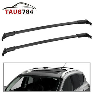 For 2013 19 Ford Escape Roof Rack Cross Bars Aluminum Luggage Cargo Bag Carrier