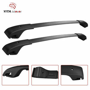 Aluminum Roof Rack Cross Bars For 2014 2021 Jeep Cherokee Luggage Cargo Carrier
