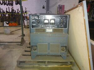 Lincoln Idealarc Dc 400 Amp Rs3 Mig Welder
