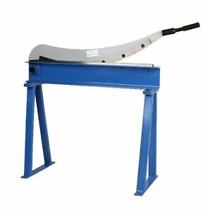 Erie Tools Guillotine Shear 32 X 16 Gauge Sheet Metal Plate Cutter With Stand