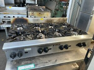 Vulcan Vhp848 8 Burner Counter top Range 48 Inc Nat Gas
