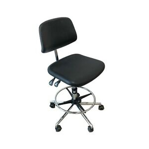 Ergonomic Laboratory Chair High Low For Lab Dental Medical Use